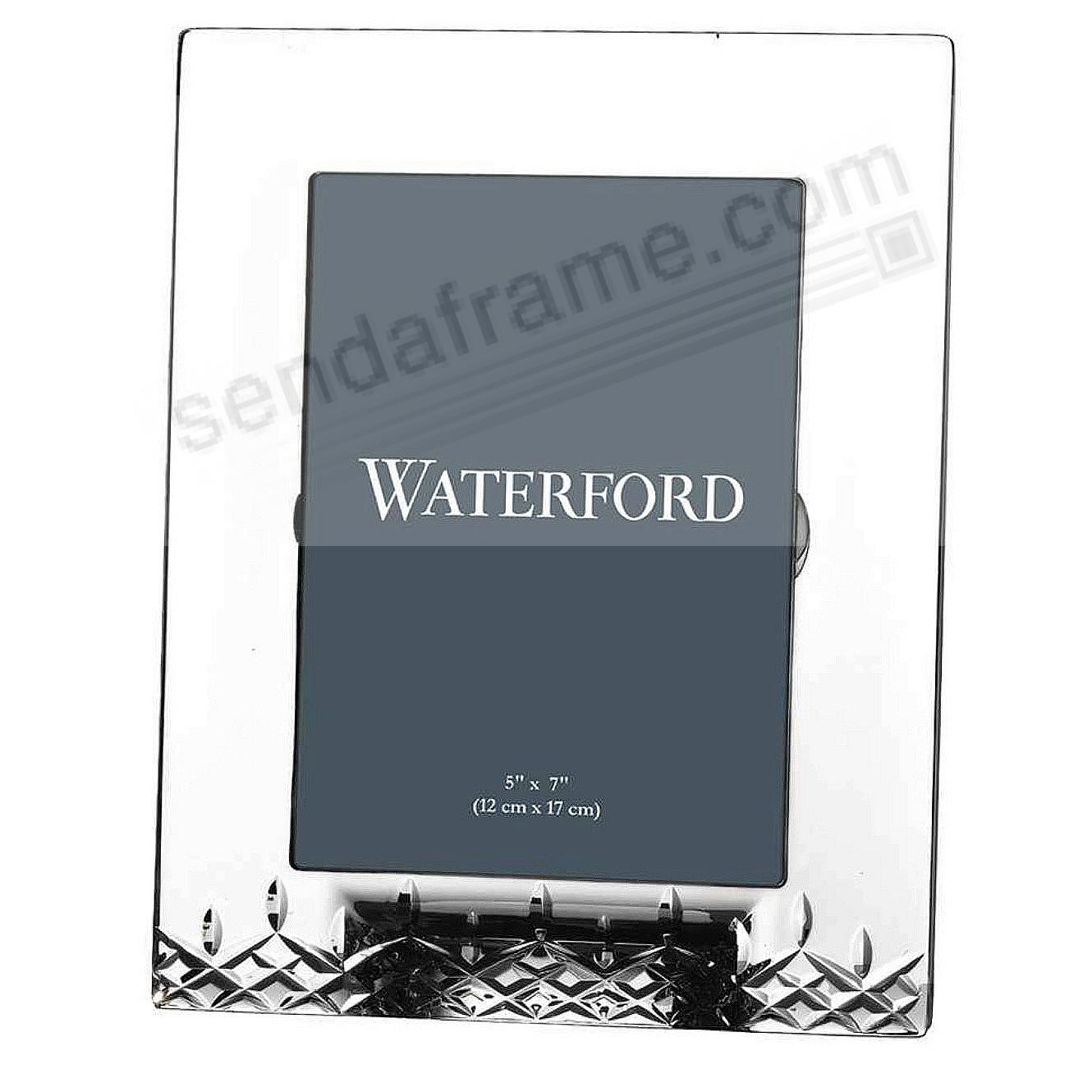 Picture frames photo albums personalized and engraved digital waterfordreg 5x7 crystal lismore essence jeuxipadfo Image collections