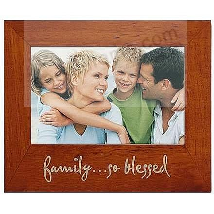 FAMILY ... SO BLESSED eco-friendly frame by Malden® - Picture Frames ...