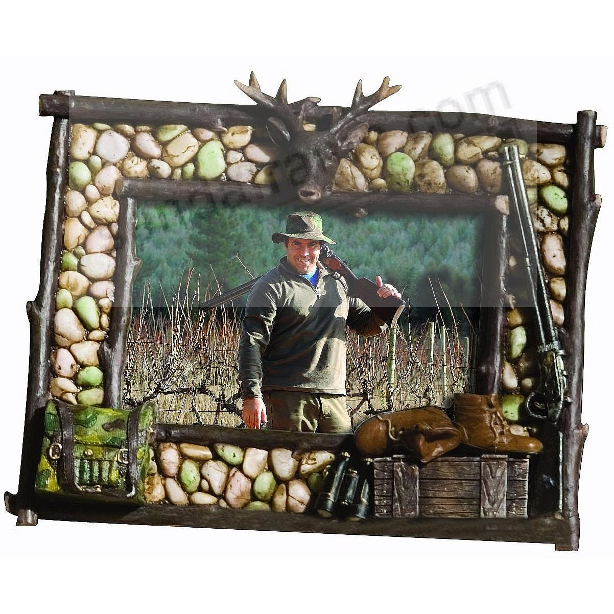 PEBBLE RIDGE HUNTING hand painted frame - Picture Frames, Photo ...