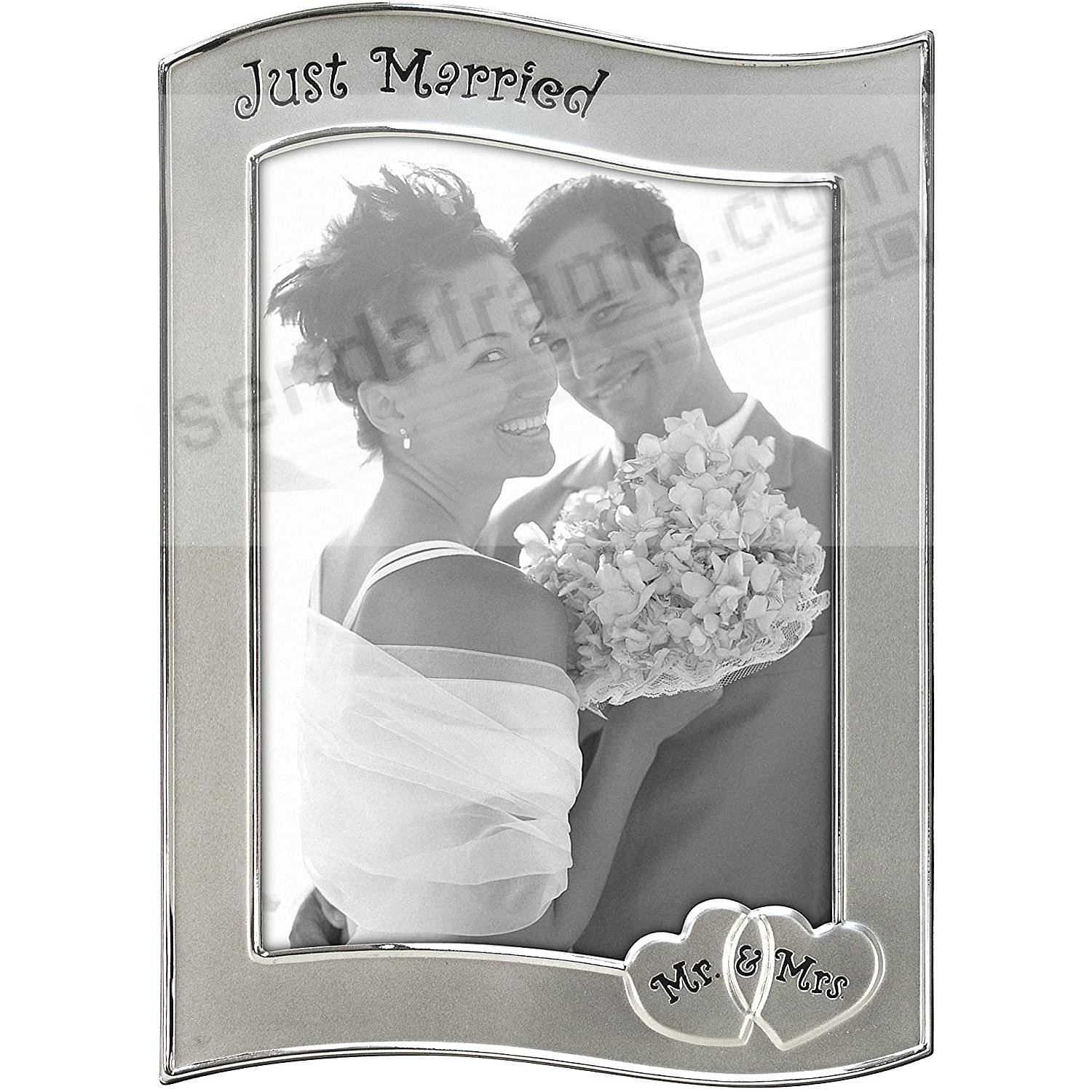 Pewter JUST MARRIED by Malden®