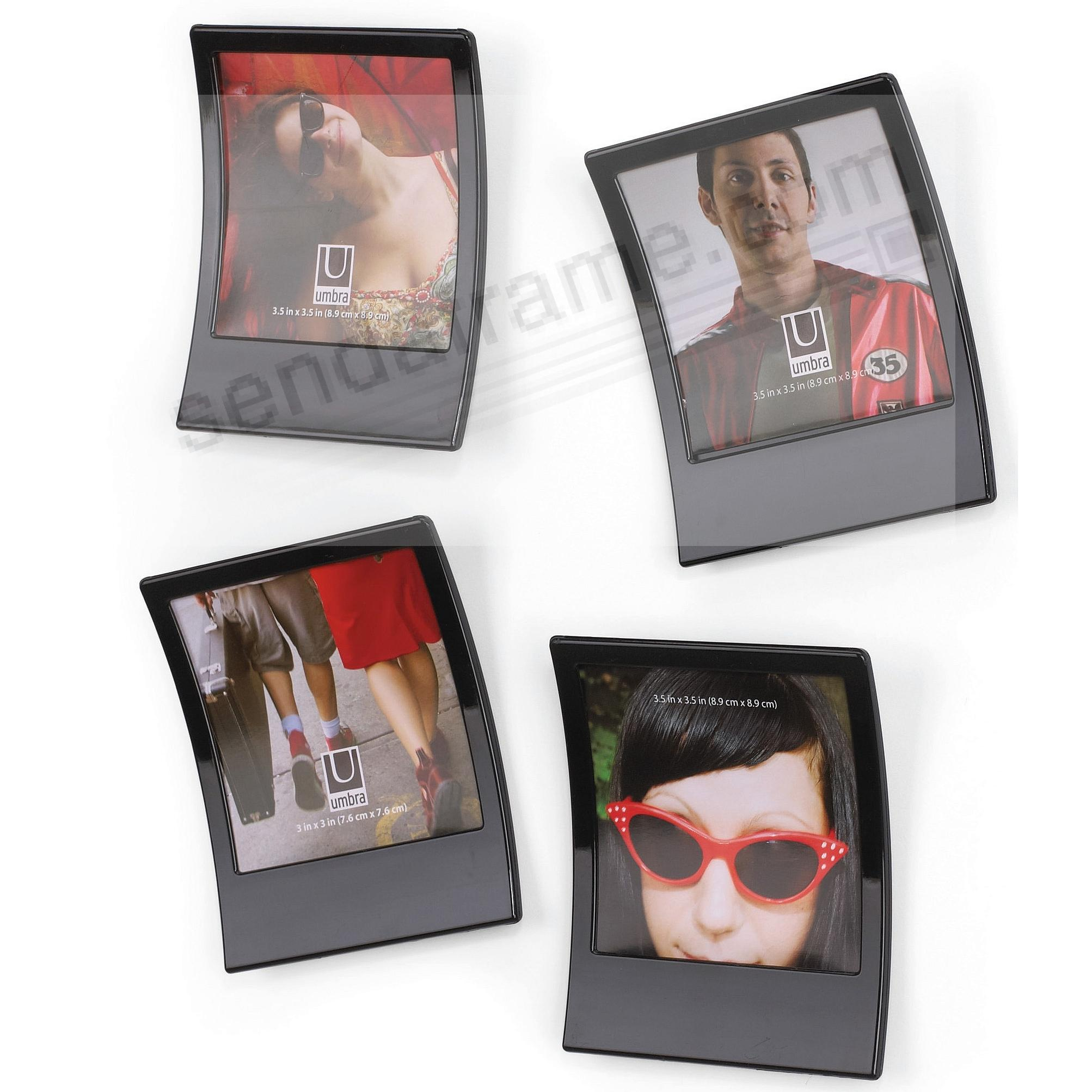 SNAP in Black polaroid inspired frame set (of 9) by Umbra - Picture ...