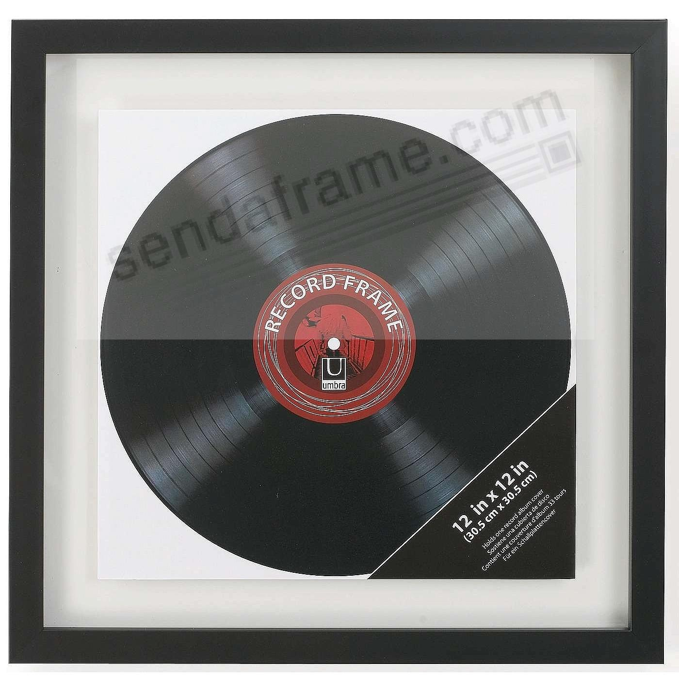 The original Umbra® RECORD Frame - Double Sided + Float Display in ...