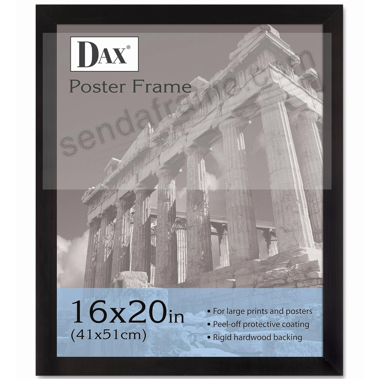 DAX / Connoisseur® black wooden posters
