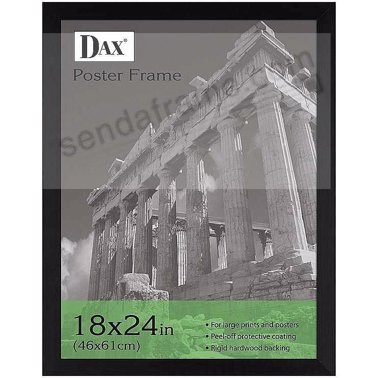 Black poster size by DAX/Connoisseur® @ warehouse pricing