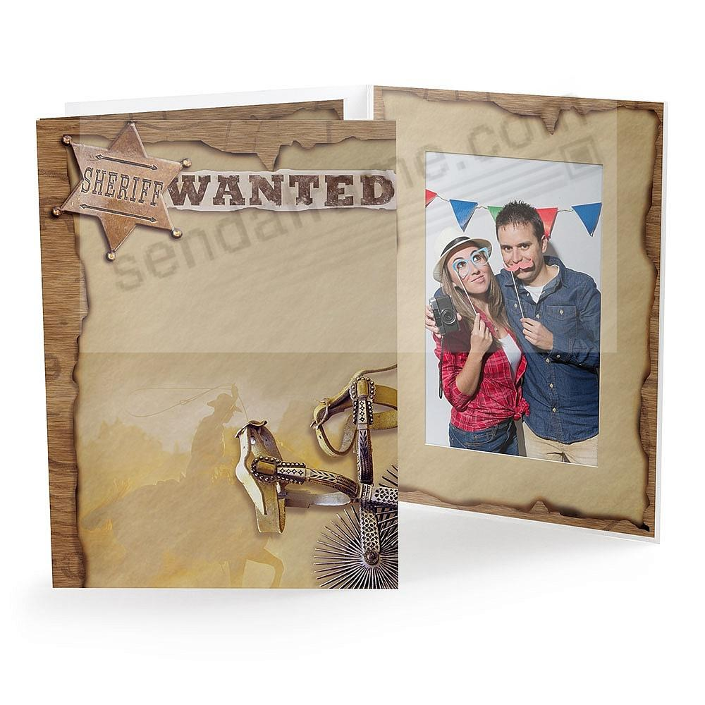 Our classic WESTERN Photo Event Folder (sold in 25s)