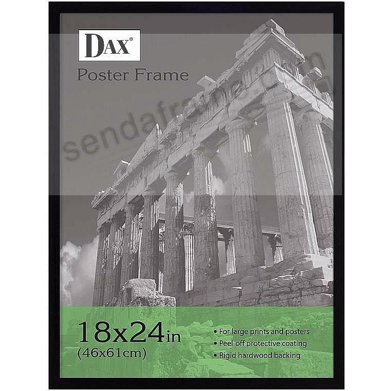 Square Corner black wood poster by DAX/Connoisseur®