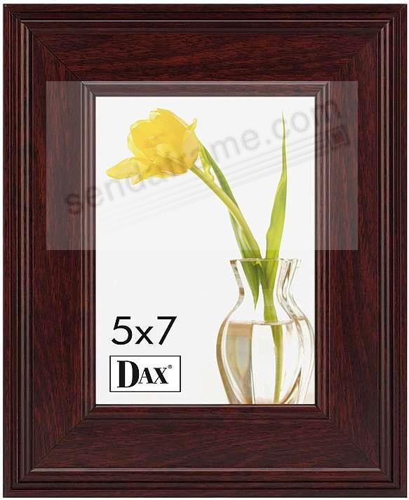 Mahogany finish wooden document frame by DAX/Connoisseur®