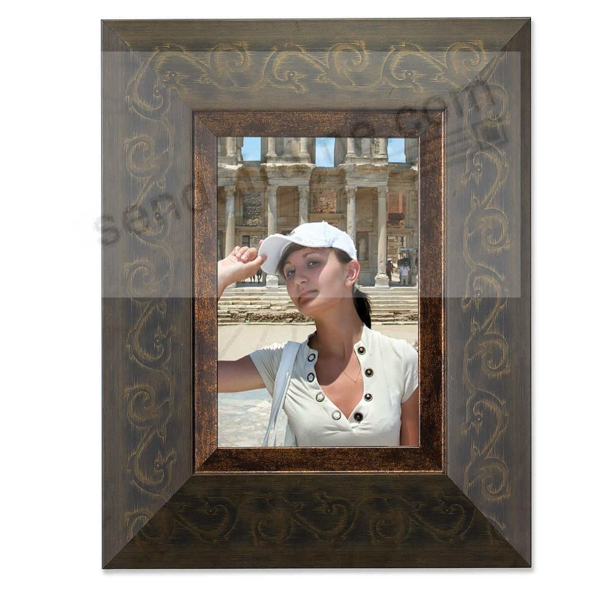 Rustica Bronze Artisan frame by Lawrence Frames®