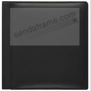 Tan SANTA FE smooth leather #101 album with fold-out pages by Raika®