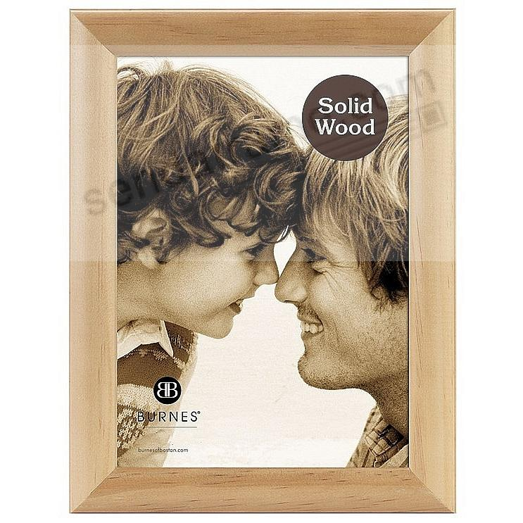 Natural Oak w/Rounded Moulding 4x6 frame by Pinnacle®