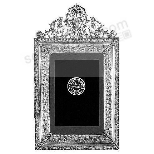 IMPERIAL in luxe Fine Pewter 4x6 frame<br>by Elias Artmetal&reg;
