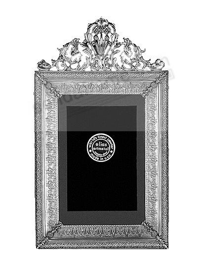 IMPERIAL luxe Fine Pewter 8x10/7x9 frame<br>by Elias Artmetal&reg;