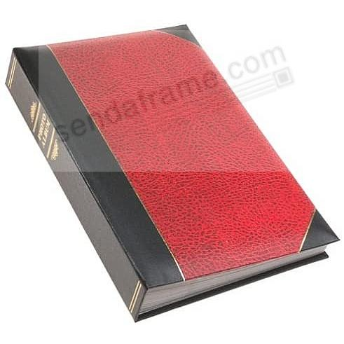 Red LEDGER 4x6 300 Pocket Lé Memo Album by Pioneer®