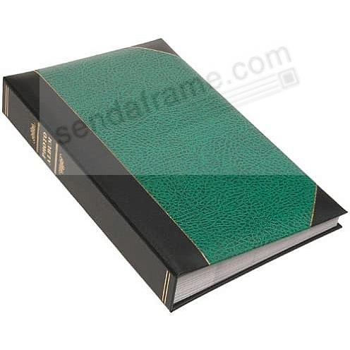 Hunter-Green LEDGER 4x6 300 Pocket Lé Memo Album by Pioneer®