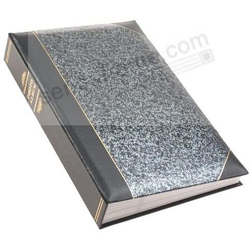 Silver Marble Ledger 4x6 300 Pocket Lé Memo Album By Pioneer