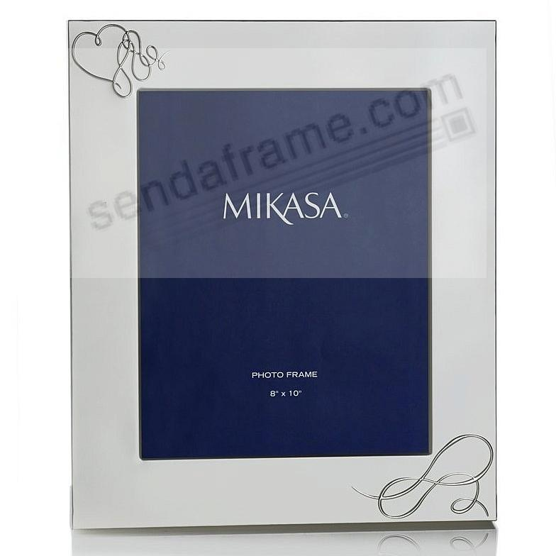 love story silver plated 8x10 picture frame by mikasa - Mikasa Picture Frames