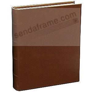Rustico-Brown Eco-Leather Medium Bound Album<br>by Graphic Image&trade;