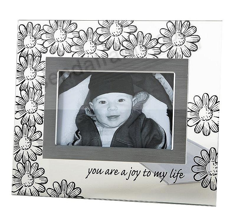 JOY glass photo frame