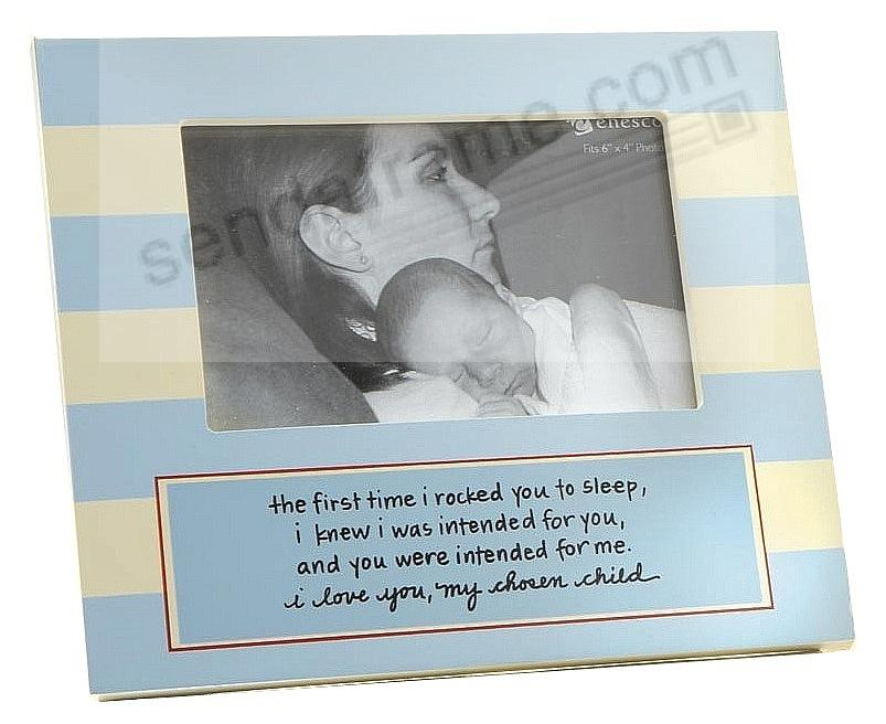 Baby boy adoption photo frame picture frames photo albums baby boy adoption photo frame negle Choice Image