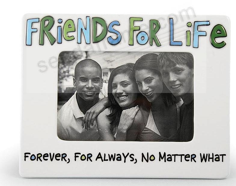 FRIENDS FOR LIFE picture frame - Picture Frames, Photo Albums ...