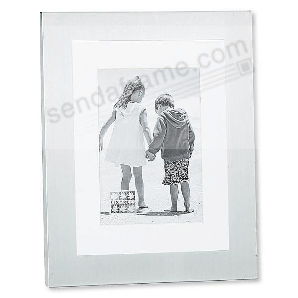 Silver METRO pre-mat frame 6x8 / 5x7 / 3½x5½ by Sixtrees®