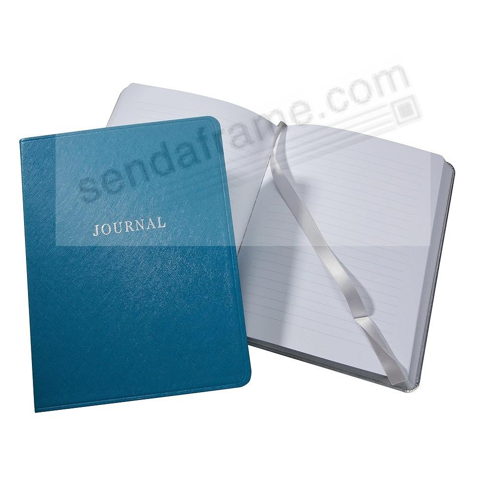 Saffiano-Blue Eco-Leather 9in Large Journal by Graphic Image™