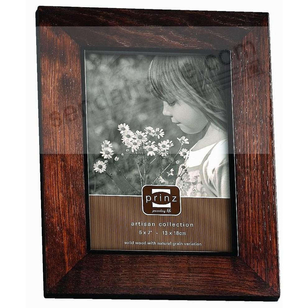 ADLER walnut stained wood frame from Prinz®