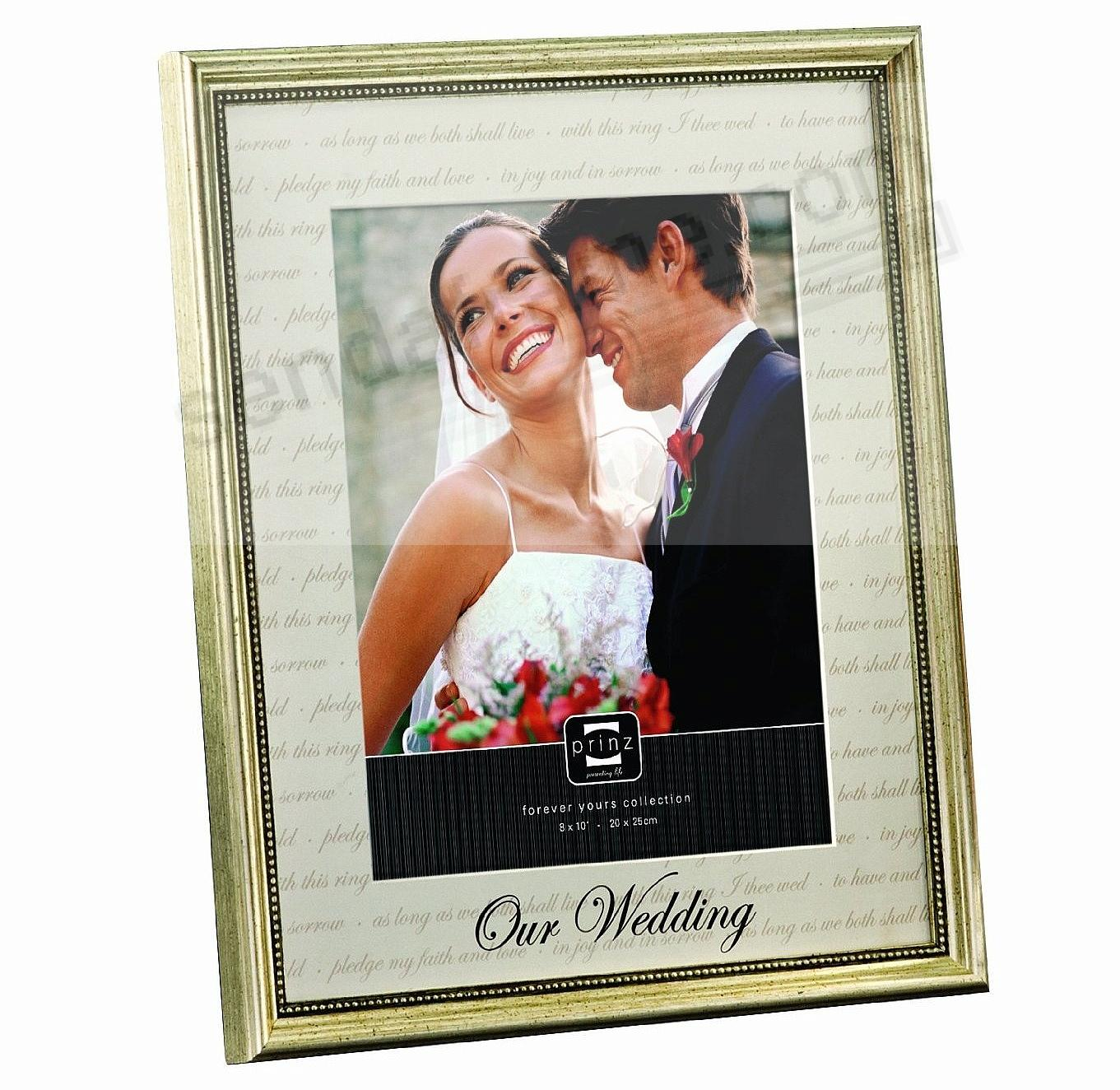 OUR WEDDING matted frame by Prinz®