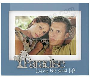 PARADISE keepsake matted frame by Malden