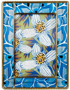 SEGUY FLOWERS Glass Frame from the Metropolitan Museum collection