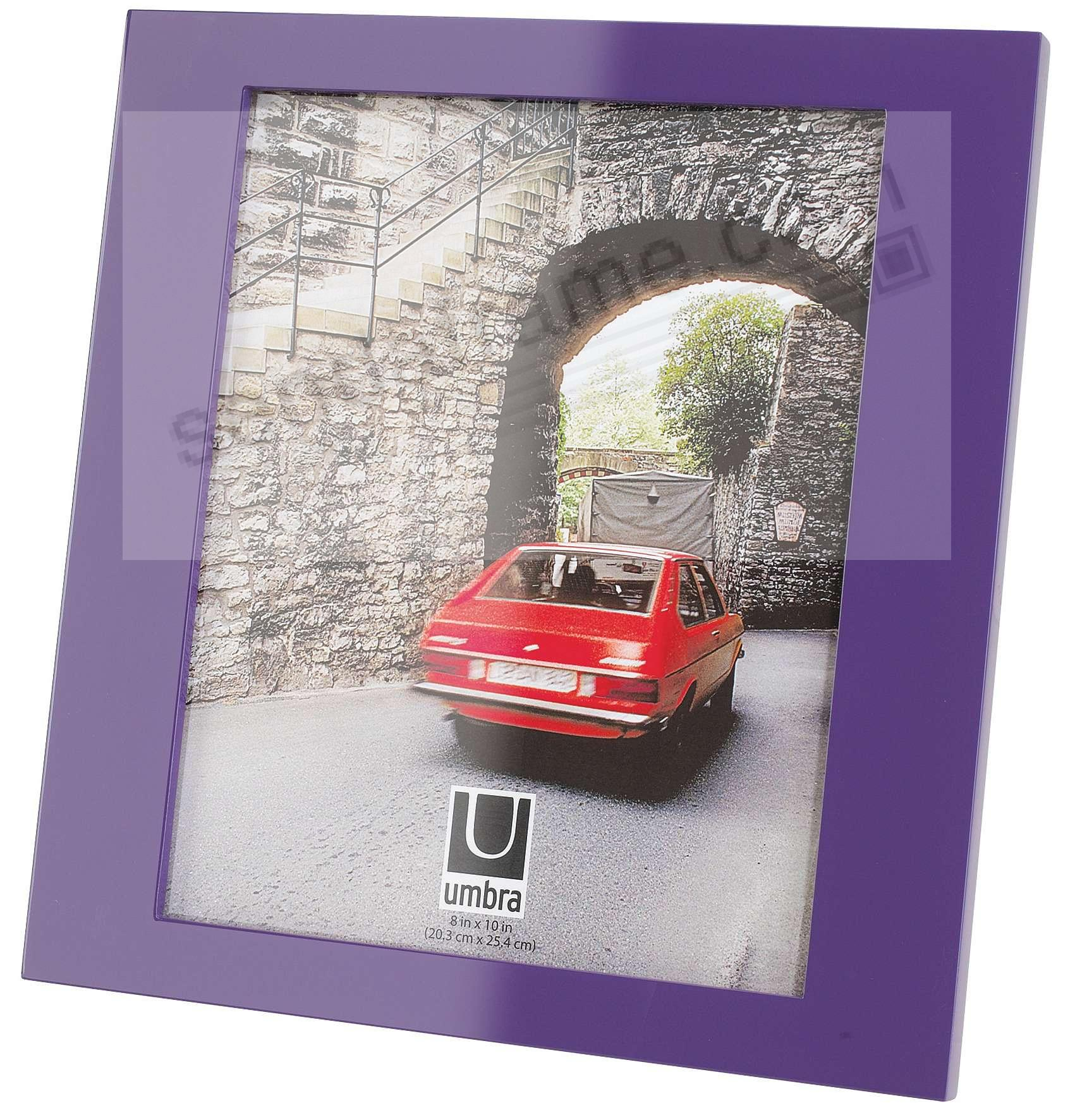Simple prince purple 8x10 frame by umbra picture frames for Engraved digital photo frame