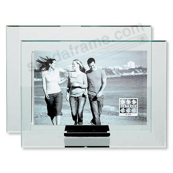 DOUBLE GLASS frame 'floats' your photo by Sixtrees®
