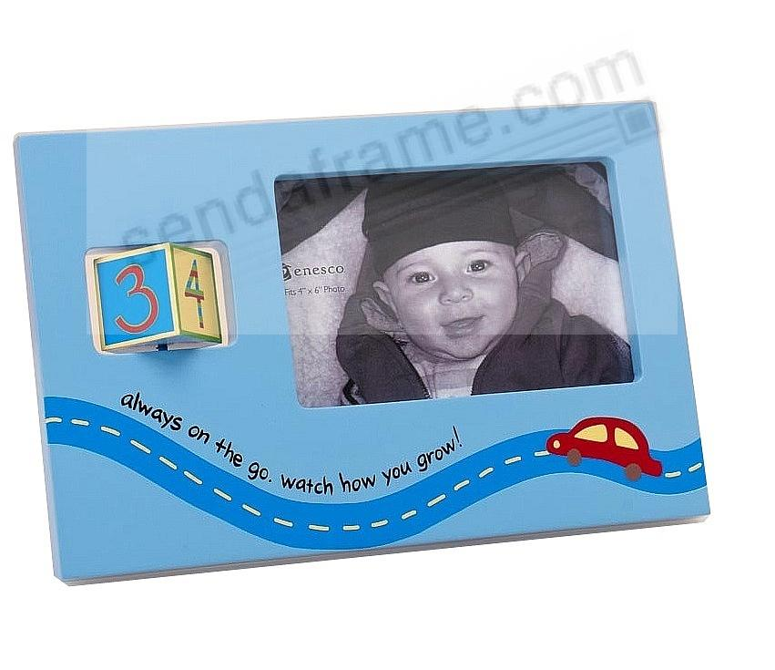 Watch Me Grow Boy Frame Age1 4 By Enesco Picture Frames Photo