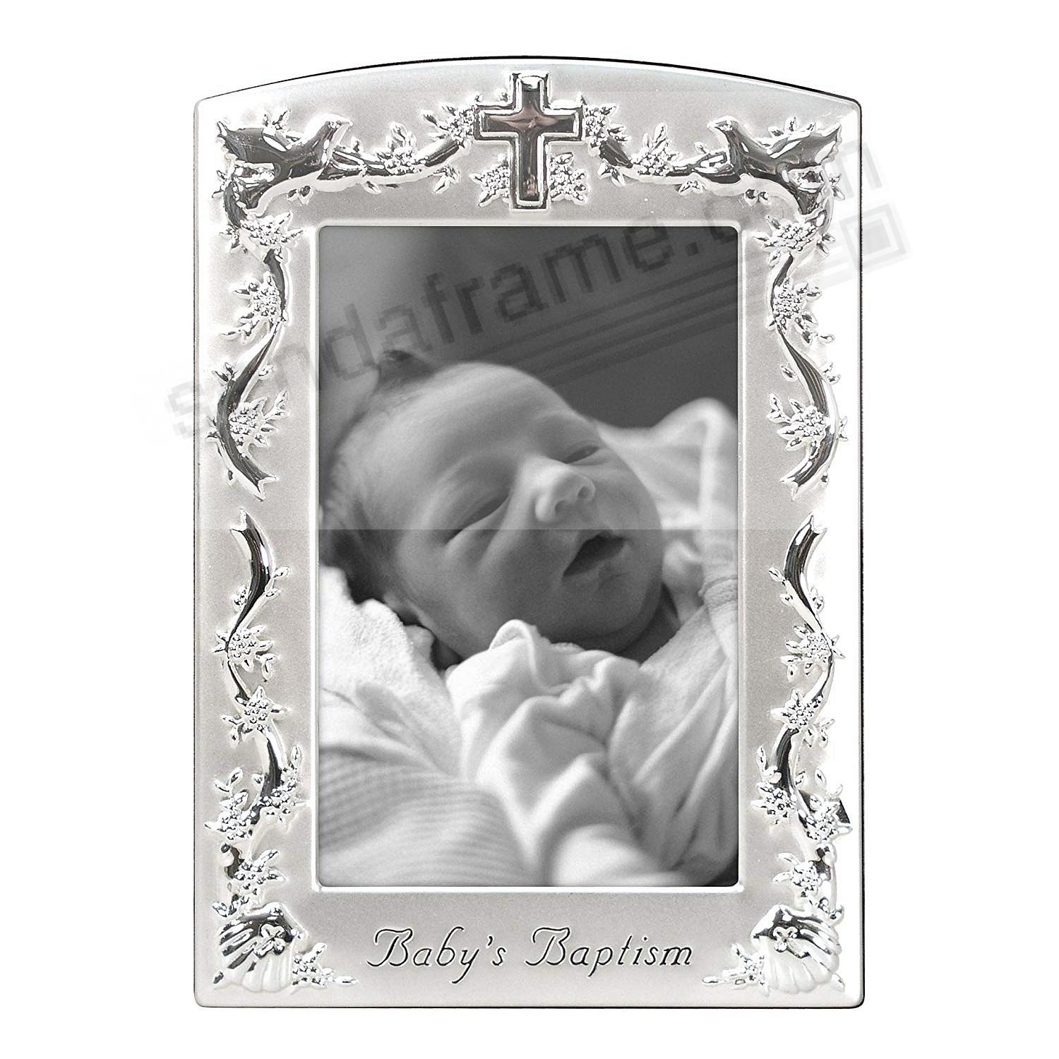 <i>Baby's Baptism</i> special pewter celebration piece