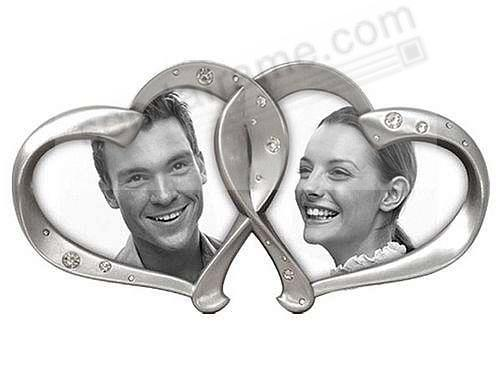 Romantic Two Hearts = One Love Duo frame by Malden - Picture Frames ...