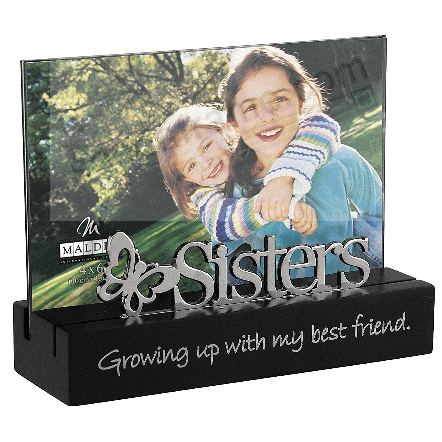 sisters growing up with my best friend life expressions frame by malden usa
