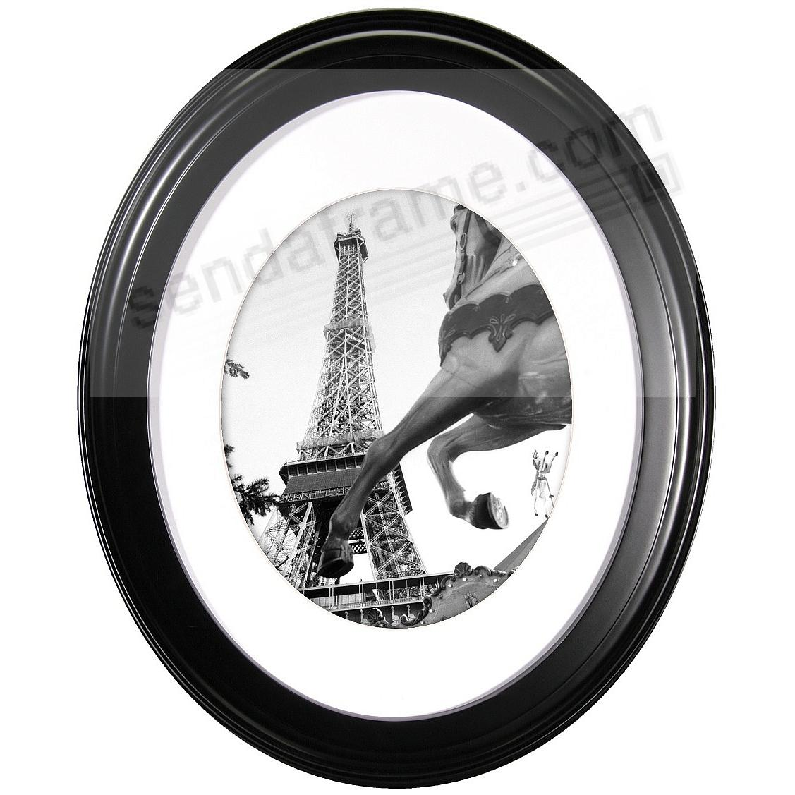 Black OVAL PORTRAIT frame 11x14/8x10 by MCS®