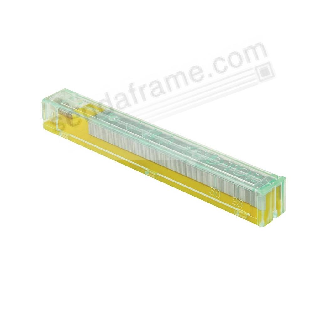 SWITCH™ Interchangeable YELLOW CASSETTE STAPLE REFILLS for 30-50 pgs by ITOYA®