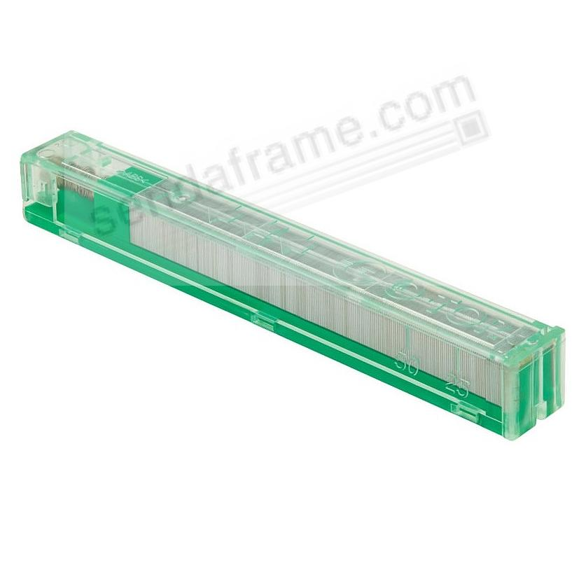 SWITCH™ Interchangeable GREEN CASSETTE STAPLE REFILLS for 50-70 pgs by ITOYA®