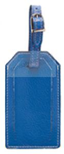 LUGGAGE TAG in Blue Leather by Raika®