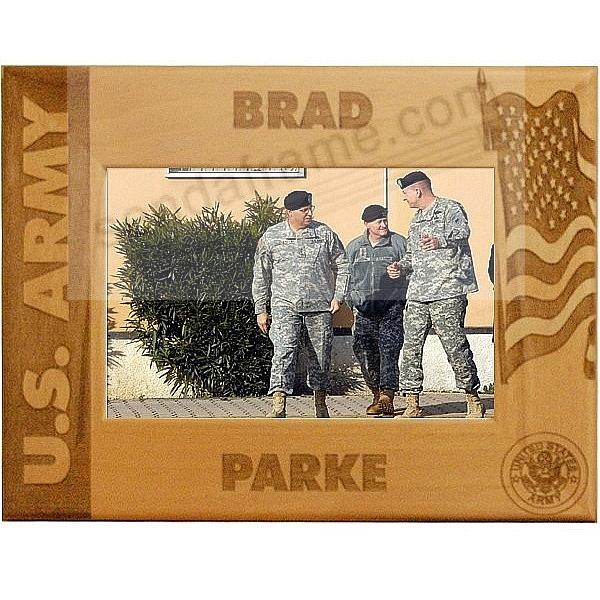 Celebrate an ARMY Loved One with a Personalized Keepsake frame