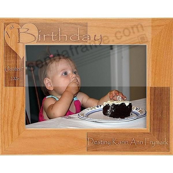 A Special CHILD's BIRTHDAY keepsake frame - Personalized for you