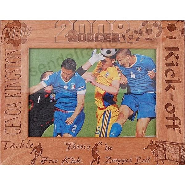 SOCCER Players need their own celebration frame.  We'll personalize one to make it a keepsake!