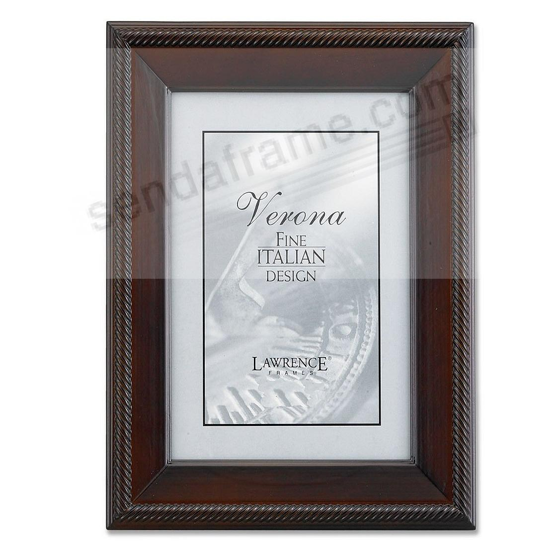 WALNUT TUXEDO WOOD 8x12 frame by Lawrence Frames® - Picture Frames ...