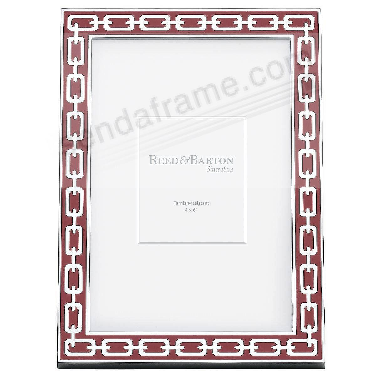 SILVER LINKS Poppy Enamel by Reed & Barton® - Picture Frames, Photo ...