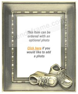 Bronze baby shoes mini engraveable picture frames photo bronze baby shoes mini engraveable negle Choice Image