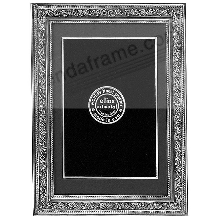 ARBOR fine pewter matted 9x12/8x10 frame by Elias Artmetal®