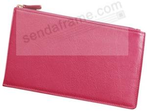 Large Flat Case 'Brights Pink' Leather by Graphic Image™