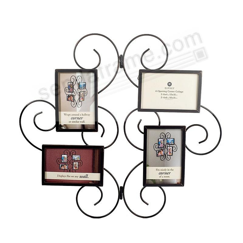 kirkland corner scroll collage by burnes picture frames photo