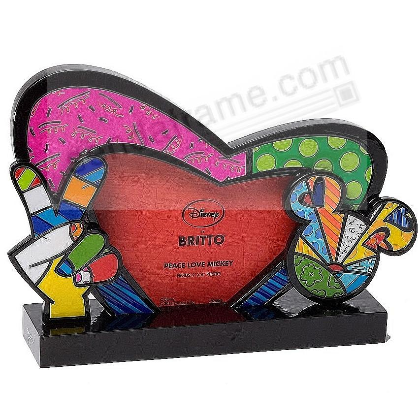peace love mickey mouse by disney - Mickey Mouse Picture Frames